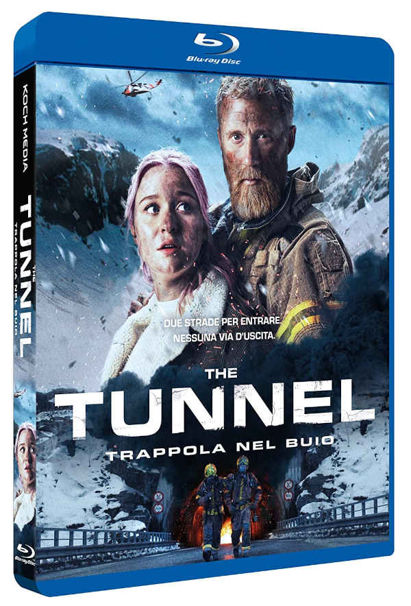 Cover Blu Ray The tunnel Trappola nel buio