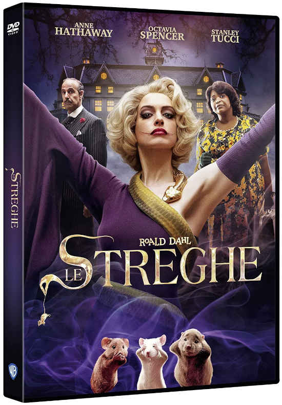 Cover dvd Le Streghe