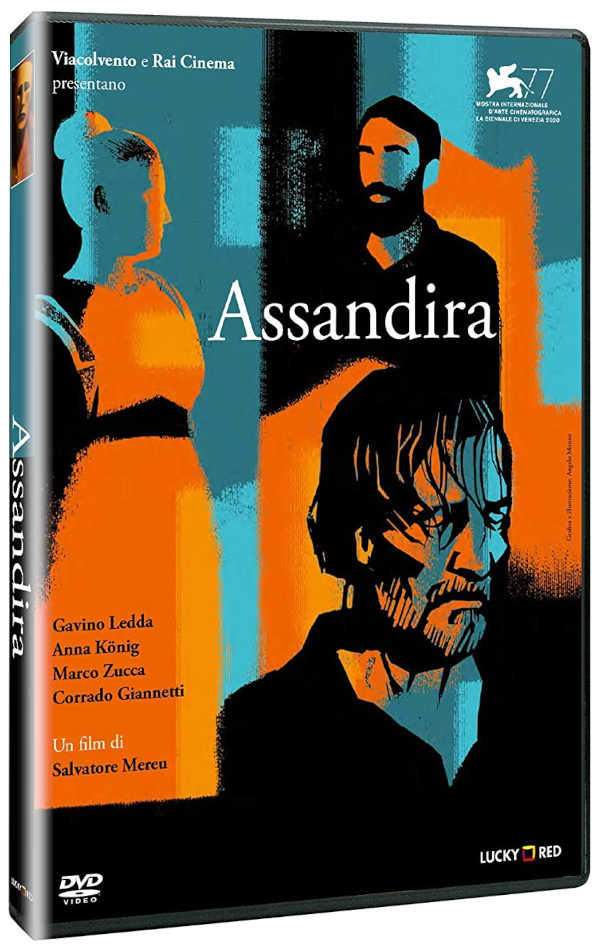 Cover dvd Assandira