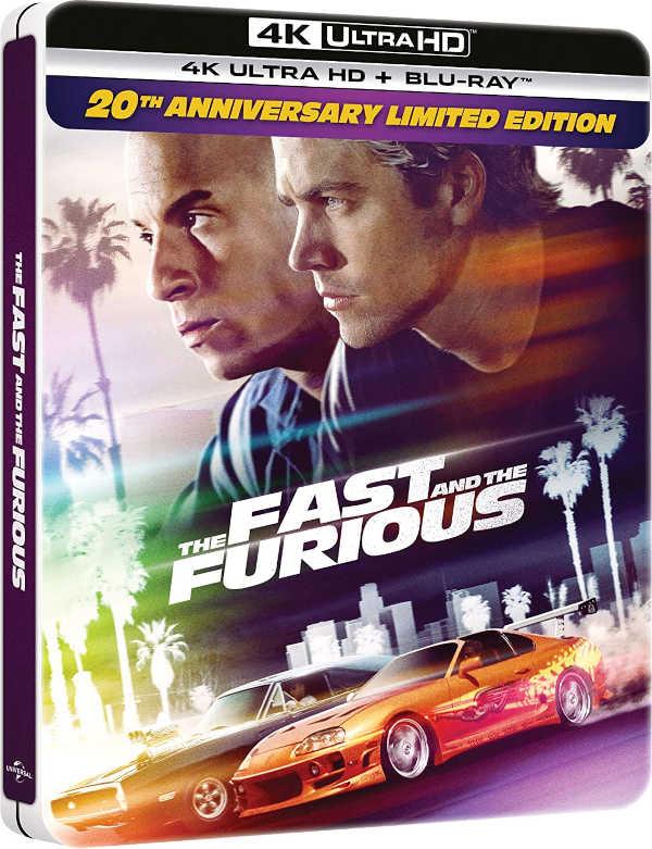 Fast & Furious 20° Anniversario 4K Steelbook Edition