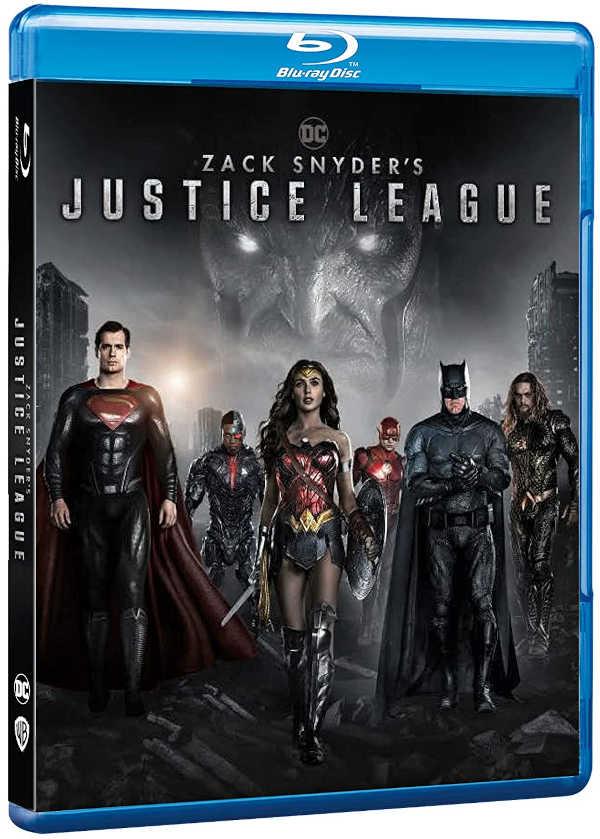 """Justice League"" arriva in dvd, Blu Ray, 4K UHD e in digitale."