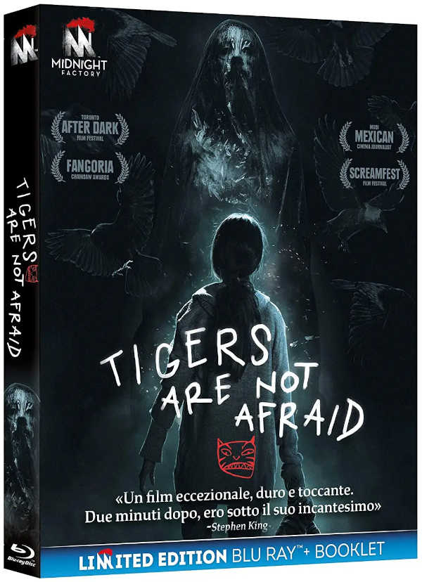 "Recensione Blu Ray ""Tigers Are Not Afraid"", di Issa López"