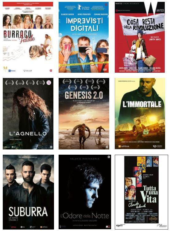 Le uscite in dvd e Blu Ray con Mustang Entertainment