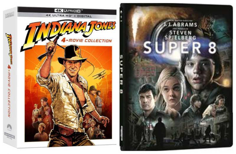"""Indiana Jones"" e ""Super 8"" a Giugno in 4K Ultra HD"